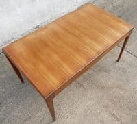 1960's Retro Teak Extending Dining Table to Seat Eight - SOLD